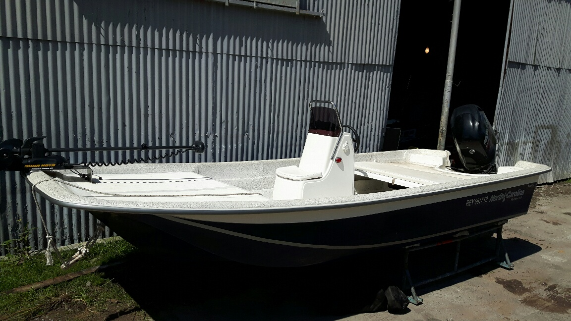 Carolina Skiff 17 Mercury 90 hp 4 t